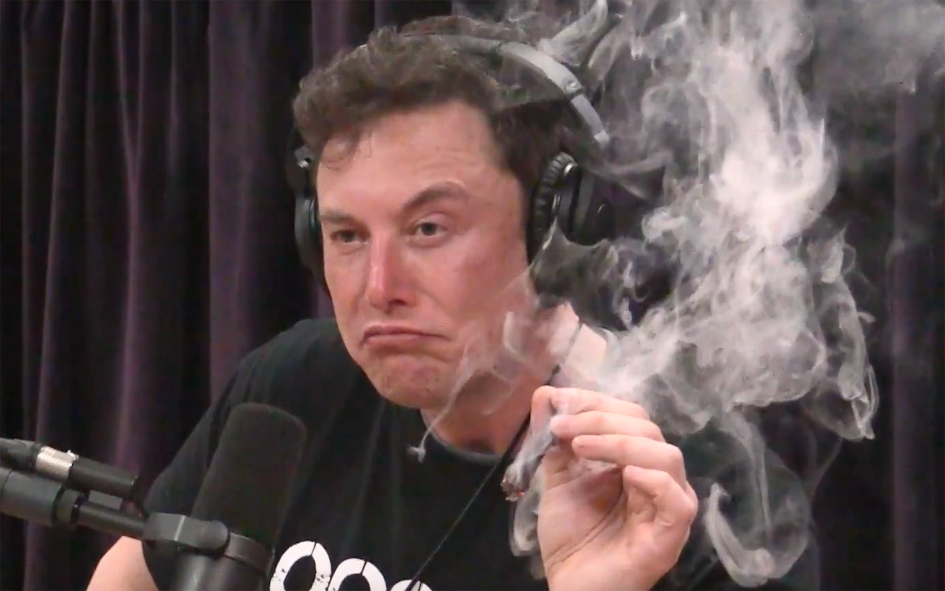 NASA's chief said the agency will be investigating their contractor SpaceX — founded by Elon Musk— for adherence to drug-free workplace contracts. (Joe Rogan Experience/YouTube)