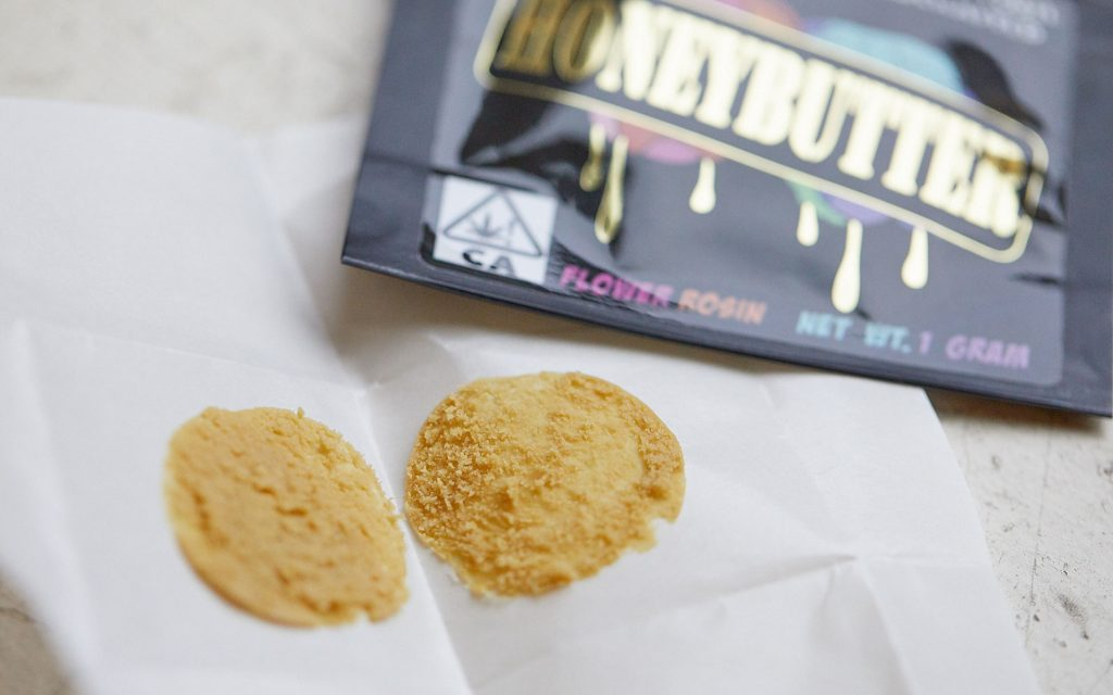 Honeybutter Rosin Company hash concentrates peach ringz
