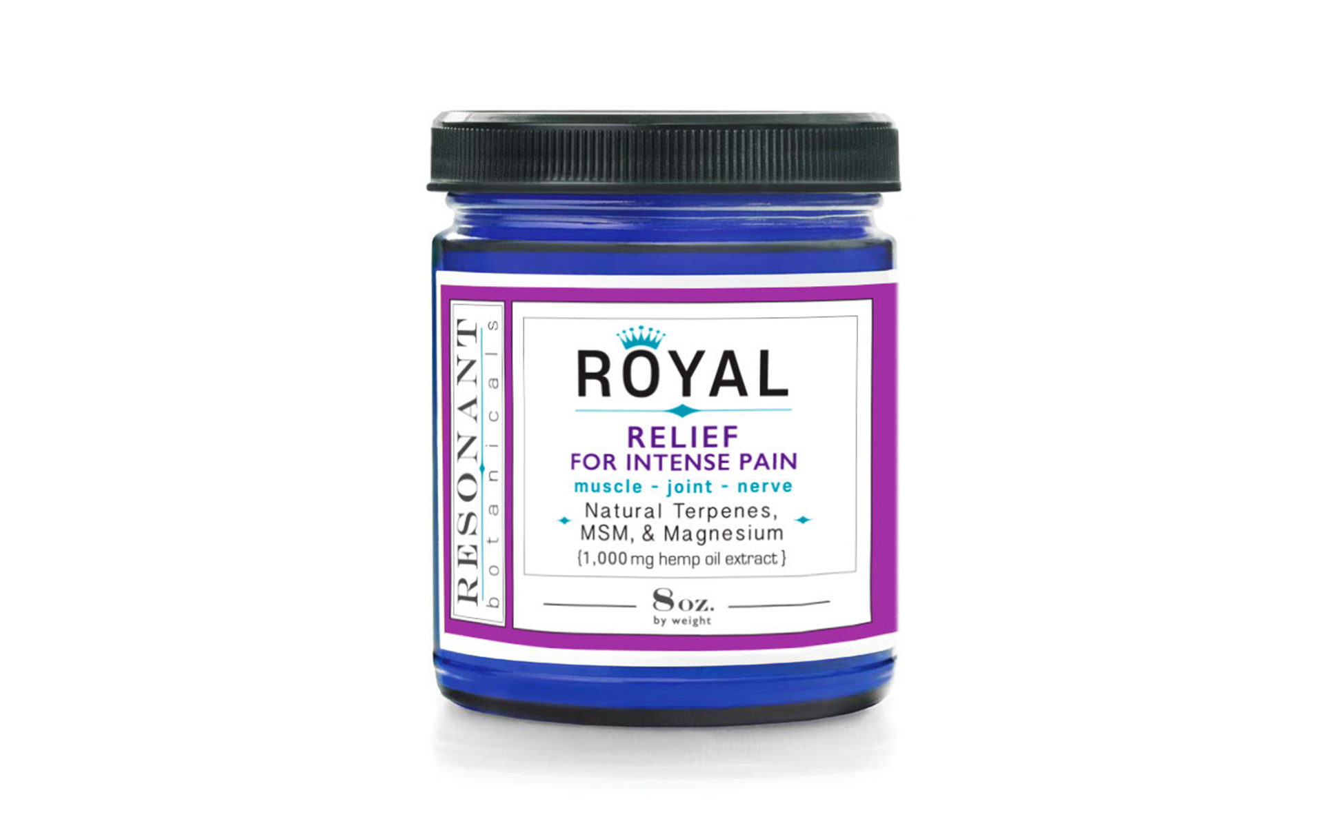 Resonant Botanical's Royal relief topical